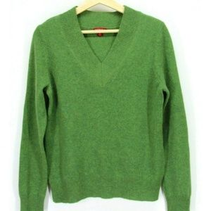 Merona Women Sweater Pullover Cashmere Green